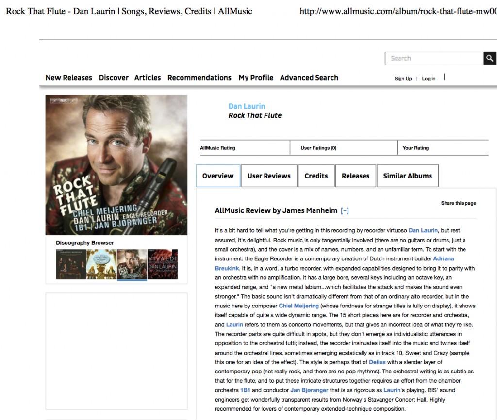 Rock That Flute - Dan Laurin   Songs, Reviews, Credits   AllMusic